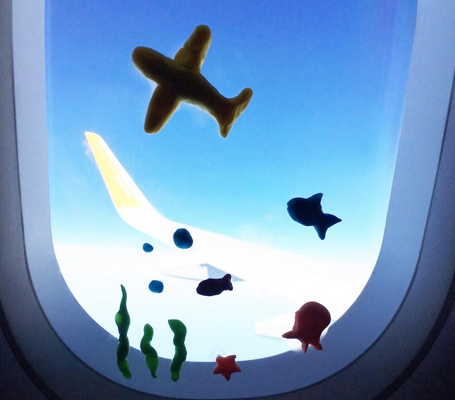子ども2人連れて飛行機に乗るってどんな感じ?