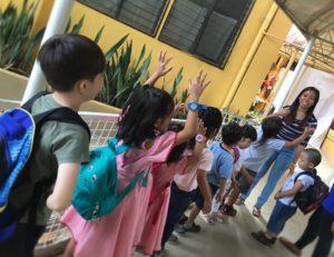ほろりと泣けるセブの幼稚園の終了式