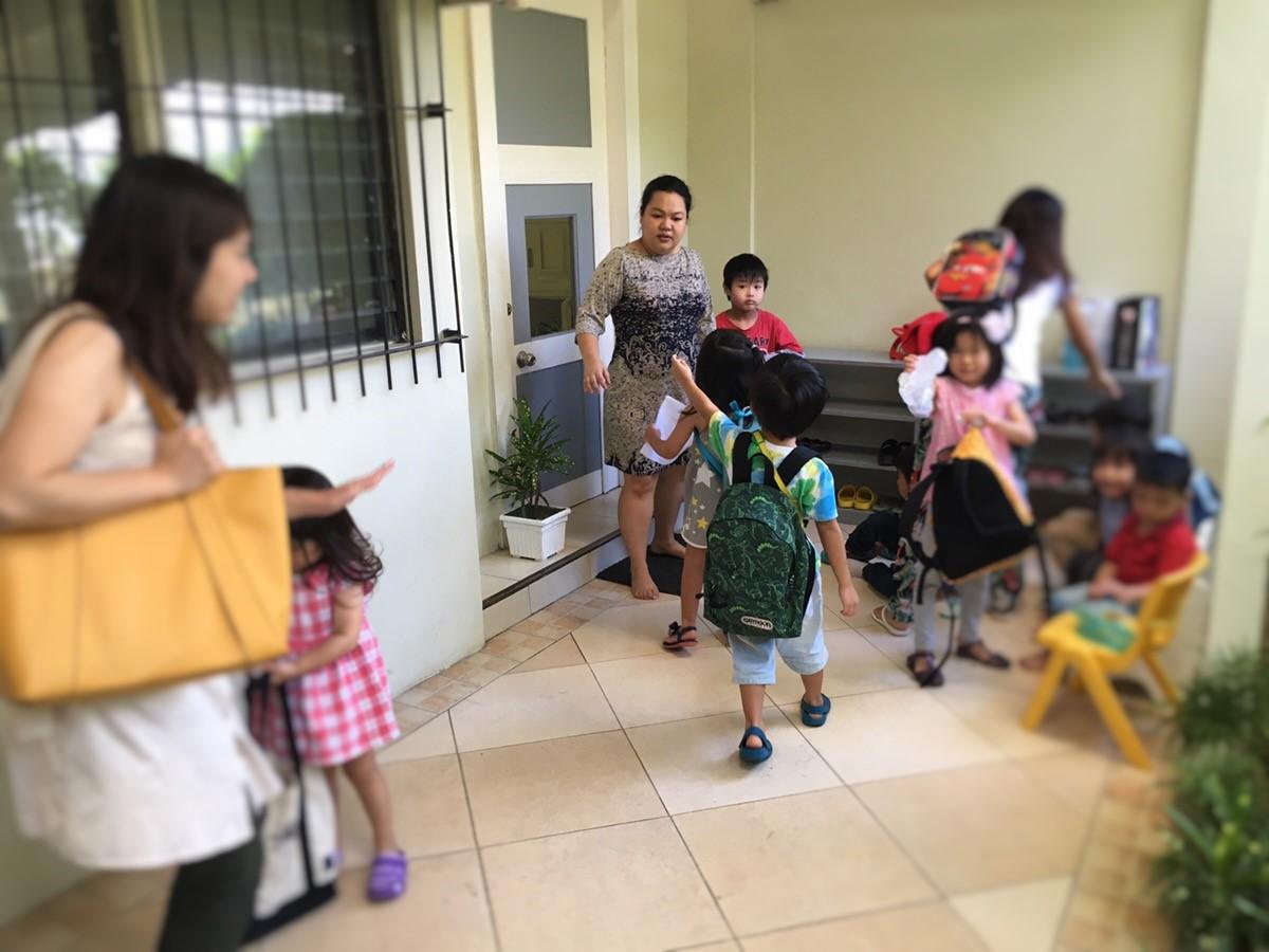セブの夏休みを利用して幼稚園のサマークラスを体験してみるその2ーThe Abba's Orchard a maria montessori school