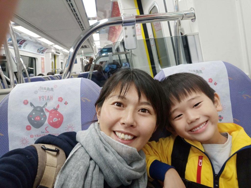 息子とふたり旅 in 台湾